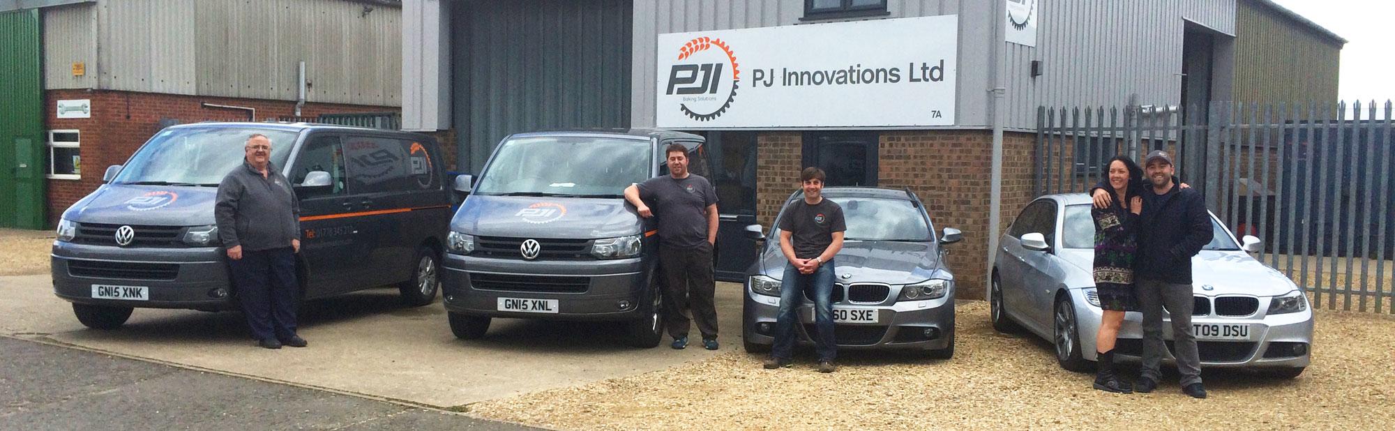 P J Innovation team